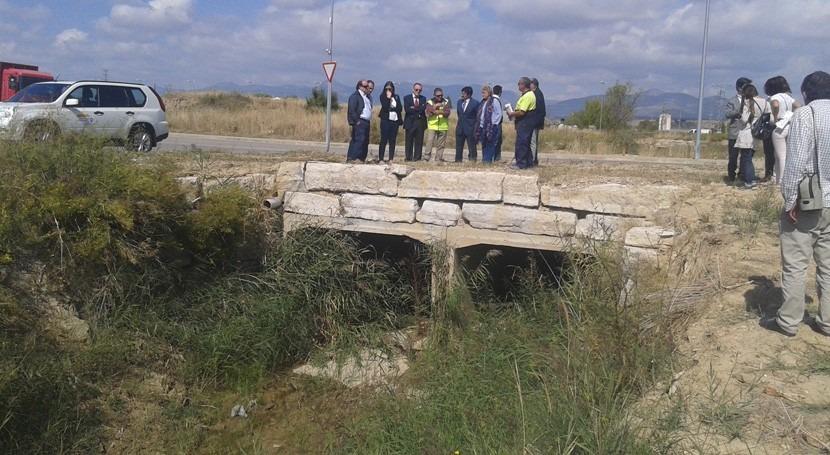 Avanzan obras mejora capacidad desagüe cauces Huesca