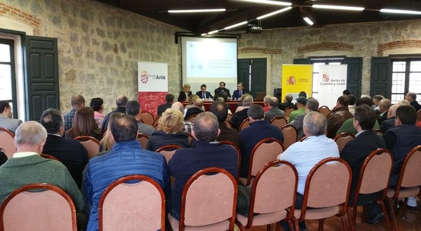 depuración agua pequeños núcleos urbanos, debate Ávila