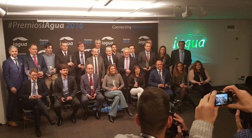 Premios iAgua 2016... contracrónica infiltrado