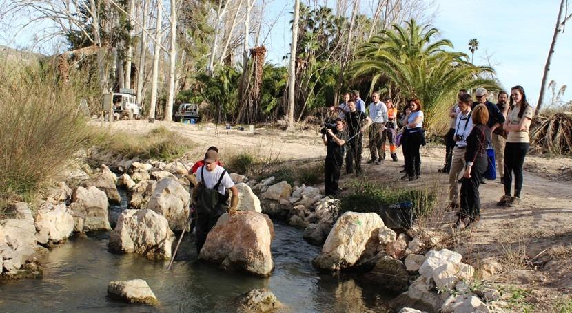 LIFE+ Segura Riverlink: UE evalúa trabajo eliminar barreras migración peces