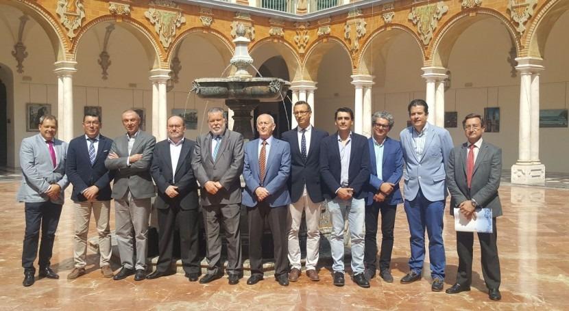 Diputación Córdoba acoge Comité Ejecutivo ASA empresa EMPROACSA como anfitriona