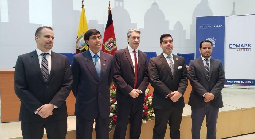 Agua Quito realizó firma Contrato Colectivo