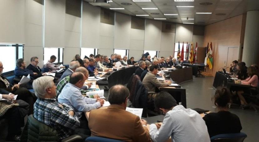 pleno Comisión Desembalse Ebro analiza reservas agua Cuenca