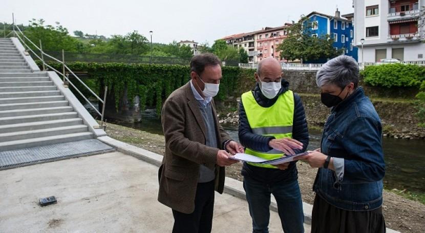 Colaboración restauración rio Leitzaran y cauce mejorar valor ecosistémico
