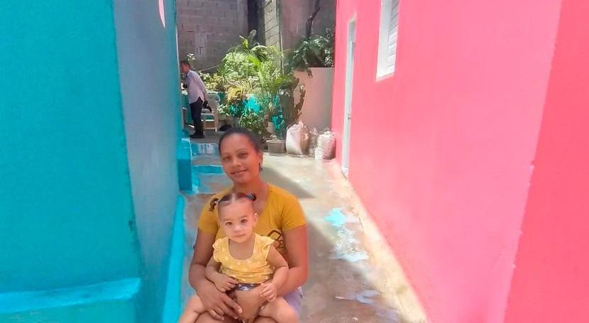 Salsipuedes, barrio dominicano que avanza viviendas dignas, agua y saneamiento