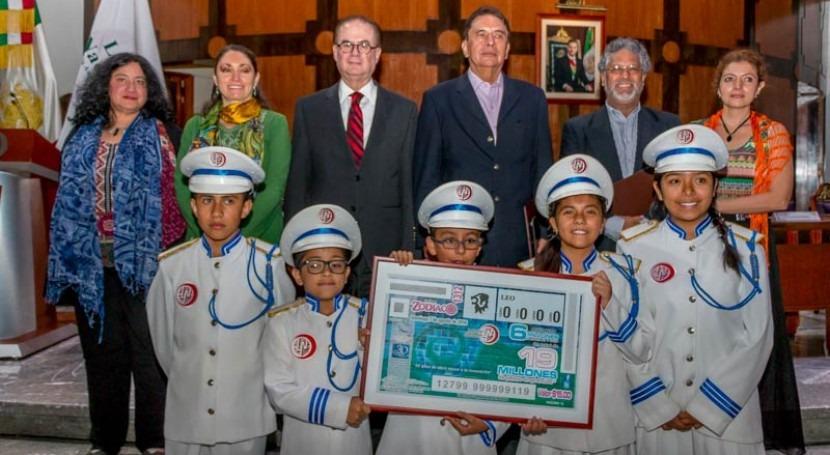 IMTA celebra 30 aniversario sorteo especial Lotería Nacional