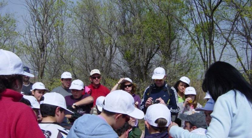 Visita a la Laguna de Hellín