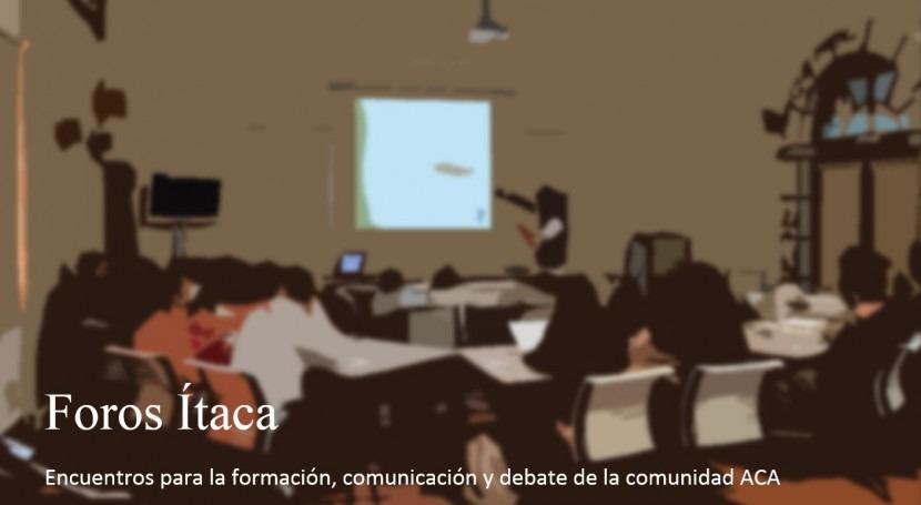 Foro Ítaca: debate Pacto Nacional Agua