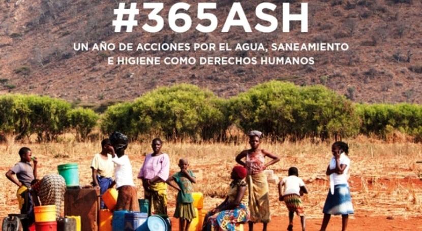 año acciones agua, saneamiento y higiene como derechos humanos