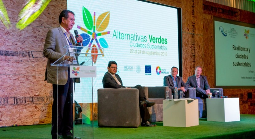 IMTA Foro Internacional Alternativas Verdes 2016
