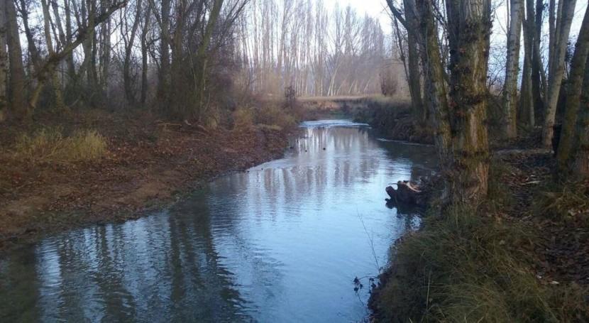 CHE concluye 11 actuaciones mejora capacidad desagüe cauces Burgos