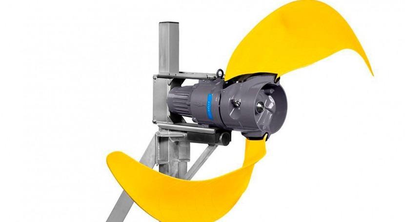 Agitador sumergible empuje adaptable Xylem: Aumenta flexibilidad, aumenta eficiencia