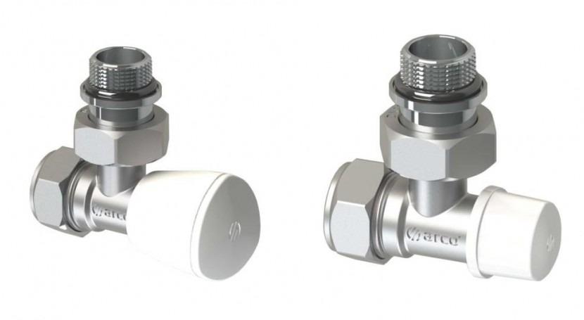 Arco presenta válvulas y detentores calefacción junta antigoteo