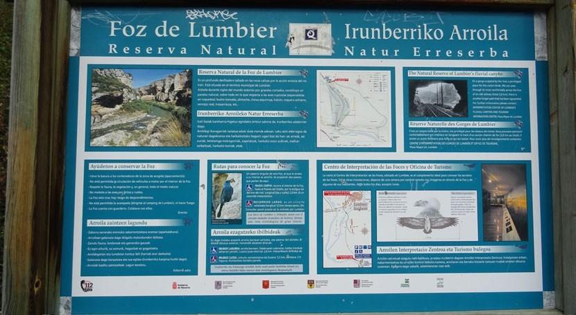 Conociendo cuenca Ebro: Foz Lumbier río Irati, Navarra