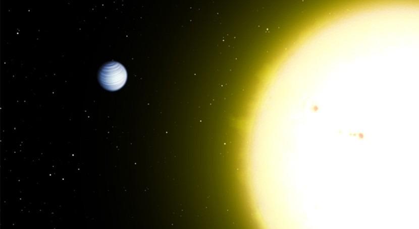 Detectada agua atmósfera Júpiter caliente 51 Pegasi b