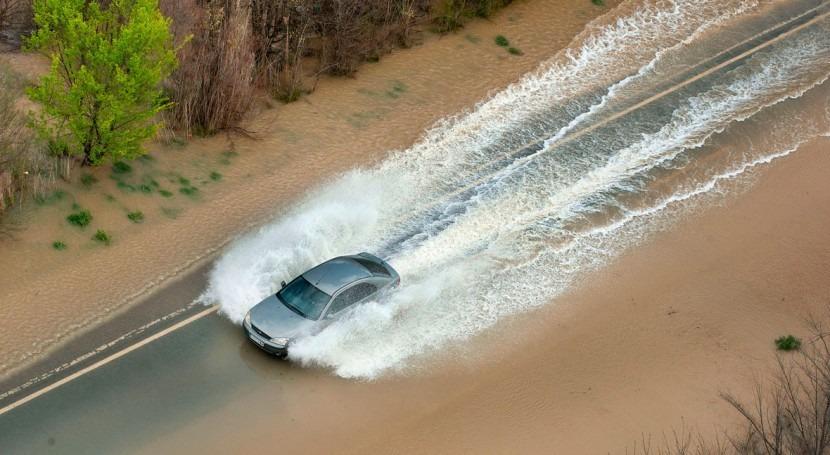 Fallece hombre ser arrastrado agua inundaciones Navarra