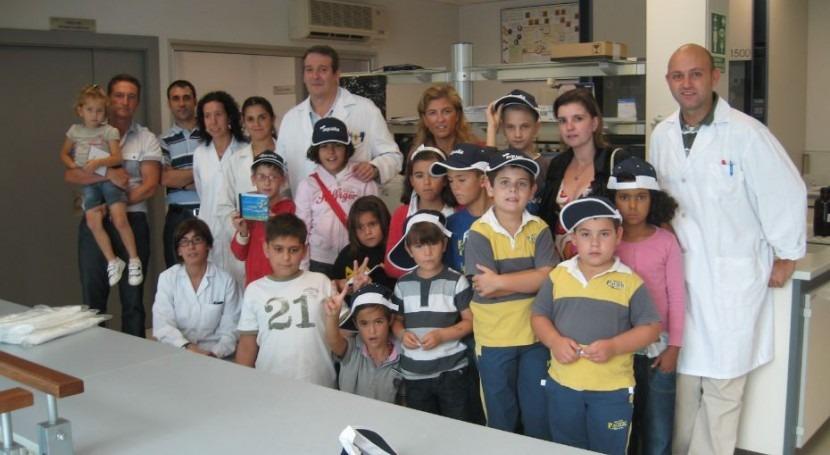 Visita al laboratorio de Oviedo