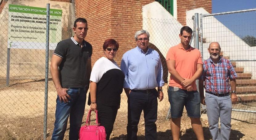 Jaén financiará mejora sistema abastecimiento Espeluy