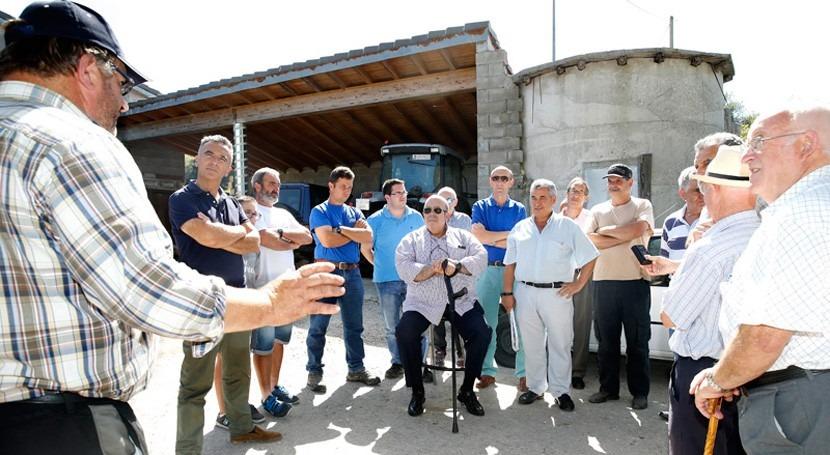 Cantabria destinará 130.000 euros abastecer zonas ganaderas San Felices Buelna