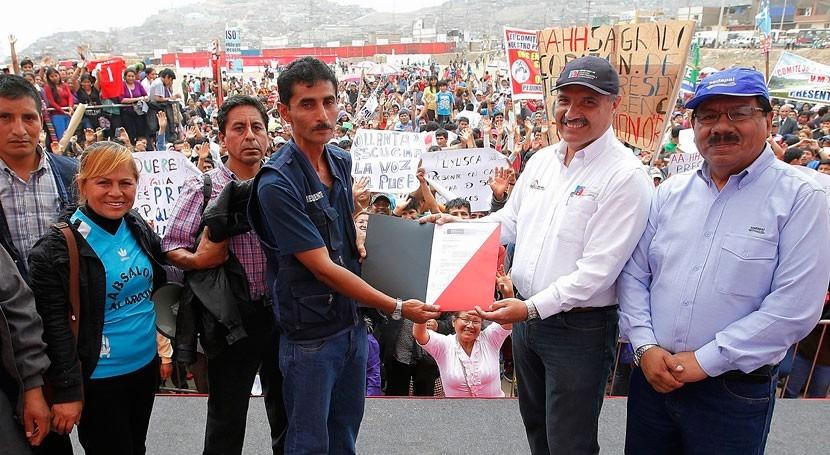Gobierno Perú anuncia inversión 300 millones dólares abastecimiento Lima