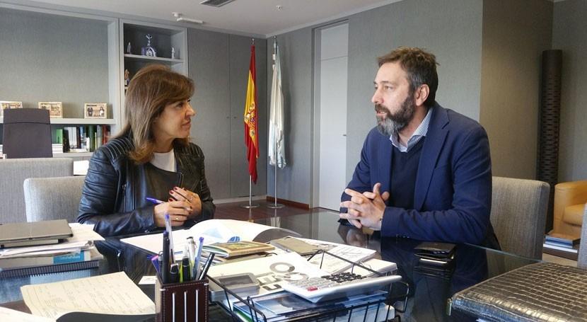 Gobierno gallego analizará posibilidad completar red abastecimiento Vilasantar