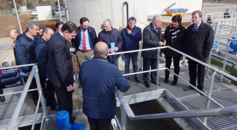 12 municipios Subsistema Iregua estrenan sistema abastecimiento