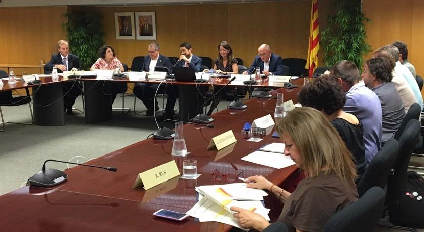 Cataluña aprueba cinco convenios mejorar saneamiento cuatro comarcas catalanas