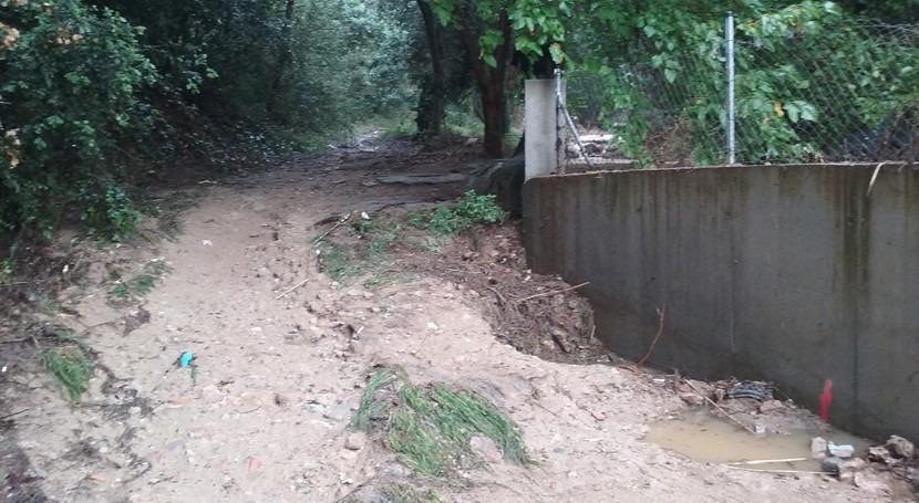 Cataluña evalúa impacto lluvias ríos y arroyos Maresme y Vallès Oriental