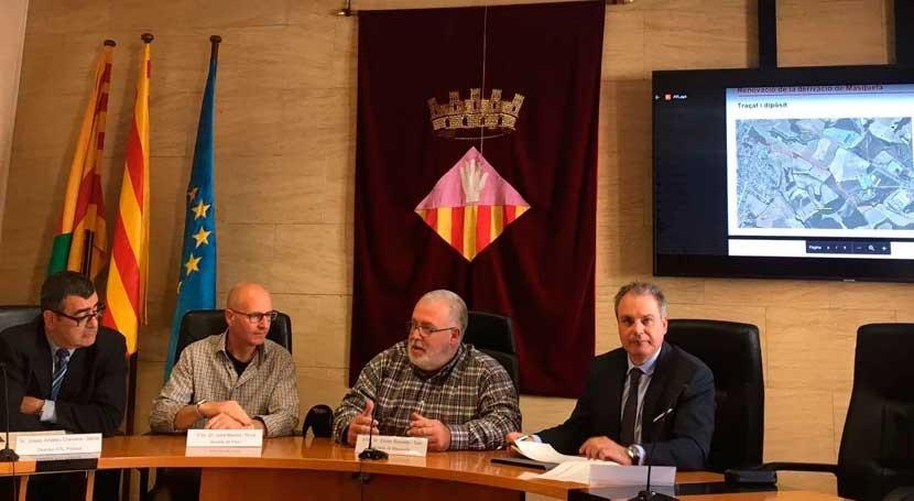 nuevo depósito garantizará suministro agua comarcas Anoia y Alt Penedès