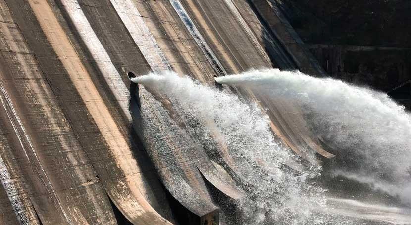 Finalizan trabajos mejora sistema liberación agua toma Sant Ponç