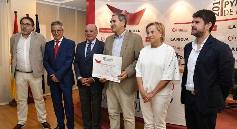 Aguas Rioja Medioambiente premiada Accésit Digitalización e Innovación 2019