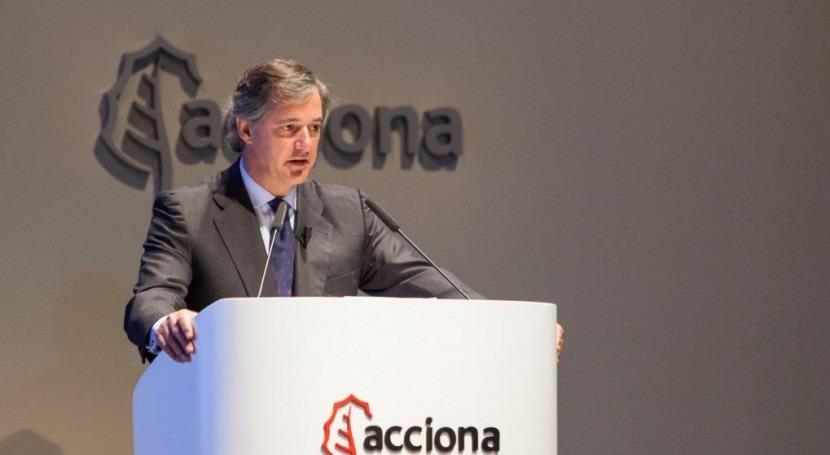 ACCIONA mejora beneficio 11,6% 166 millones euros