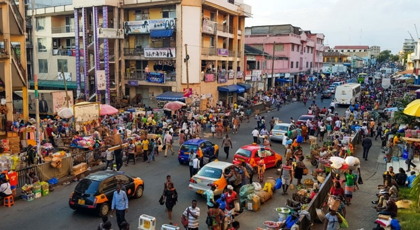 ciudades África se están quedando agua