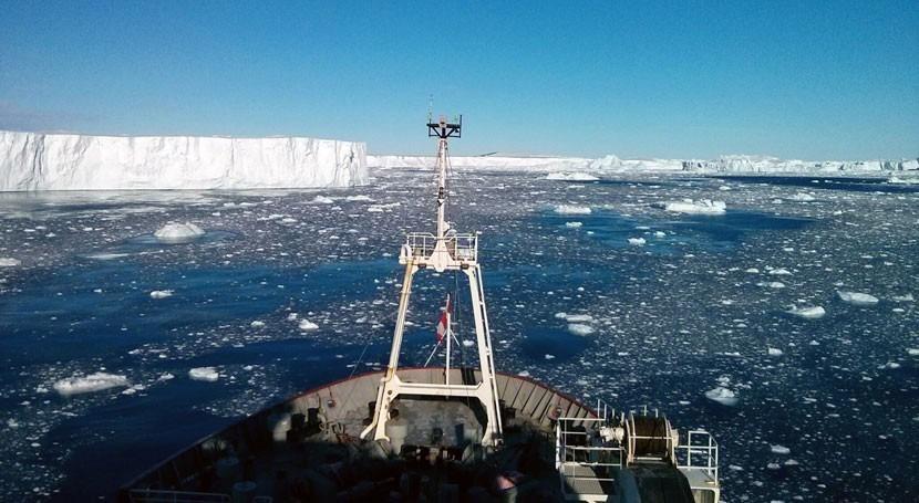 Hallada actividad volcánica mayor y más inestable glaciar antártico