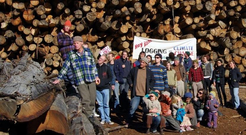 Activistas medioambientales (Wikipedia/CC).