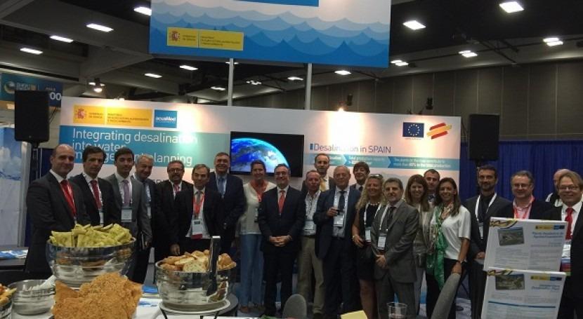 Acuamed participa Congreso Mundial Desalación que se celebra San Diego