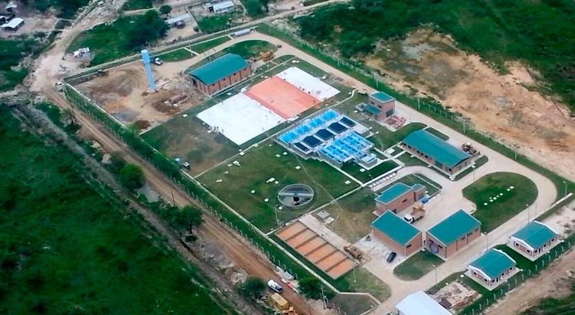 obras Acueducto Paraguay se han ejecutado 75%