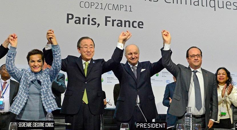 Fecha histórica: Acuerdo Cambio Climático entrará vigor 4 noviembre