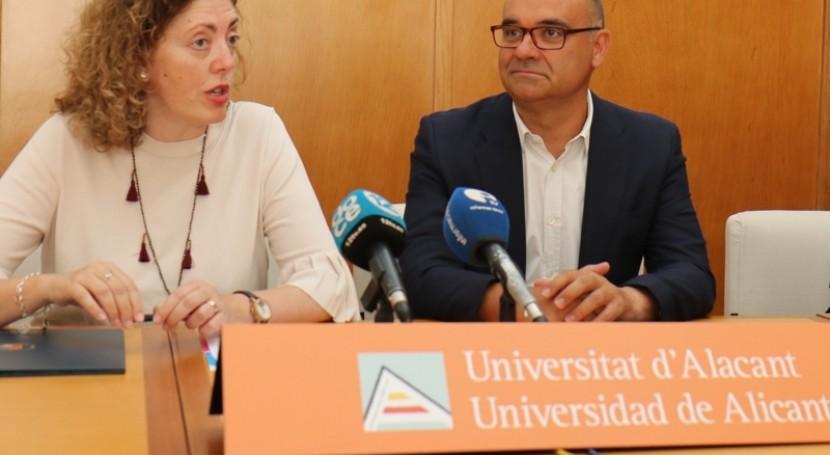 Fundación Aquae y Universidad Alicante impulsan proyectos alineados ODS