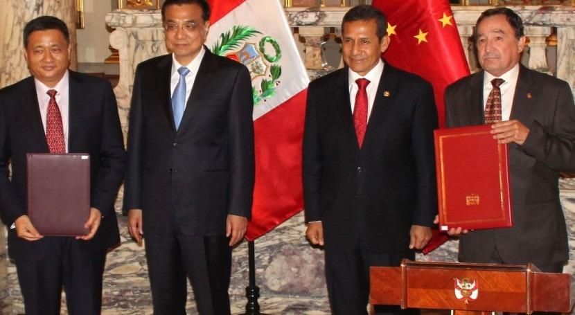 Acuerdo Perú y China estudiar recursos hídricos sur país latinoamericano