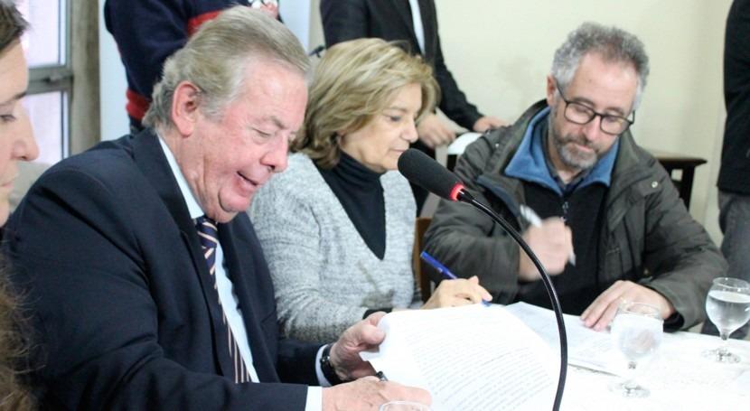 Cooperación Uruguay y departamento Colonia materia hídirica y urbanismo