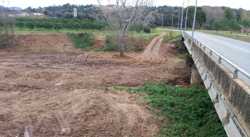 Destinados 36.000 euros mejorar varios tramos riera Caldes Cataluña
