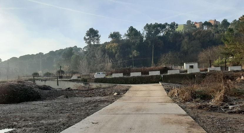 Agencia Catalana Agua adecua tramo río Ripoll paso Sabadell
