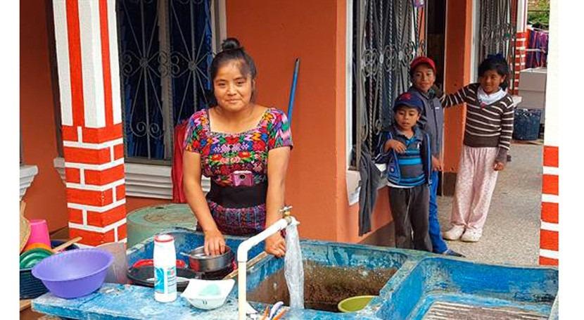 España apoya viabilidad sistema agua potable Ciudad Guatemala