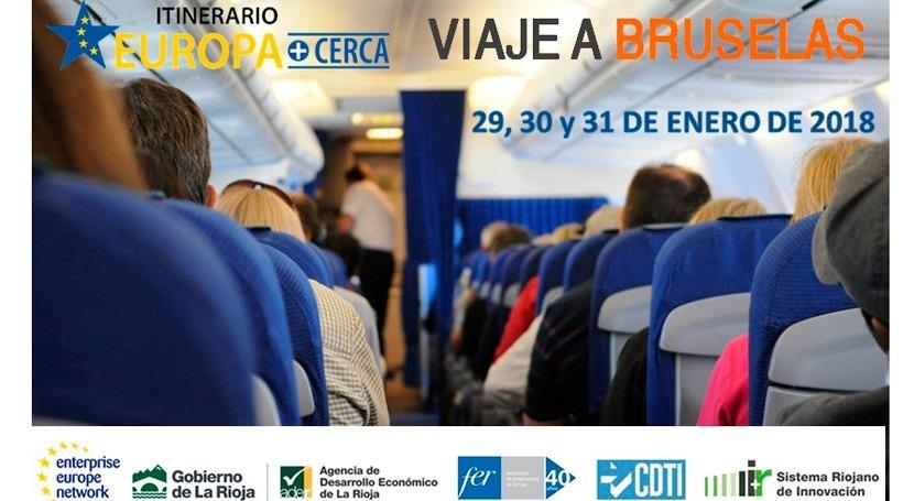 AEMA participará viaje Bruselas itinerario Europa+cerca
