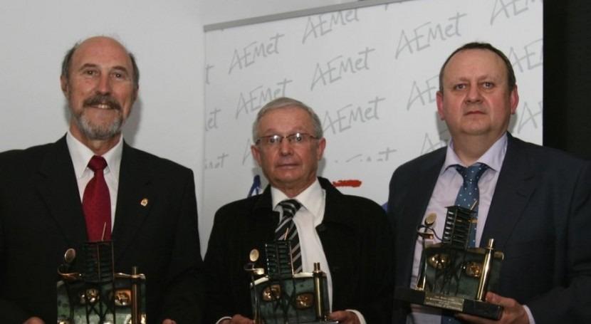 En el evento se premió a los colaboradores de la Red climatológica de AEMET.