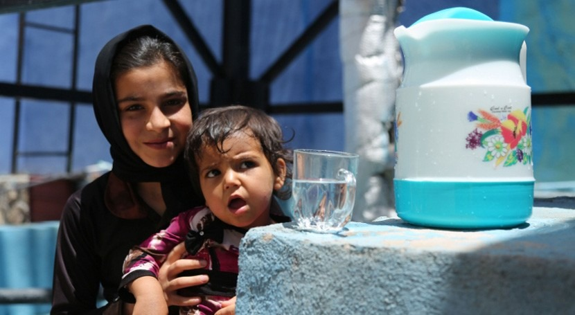 acceso agua potable disminuye enfermedades transmitidas agua Afganistán