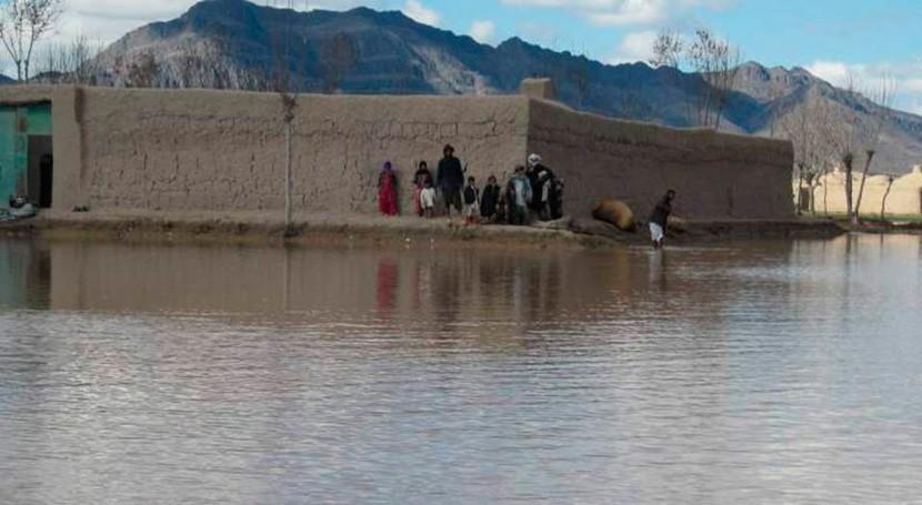 intensas precipitaciones oeste y sur Afganistán dejan al menos 16 fallecidos
