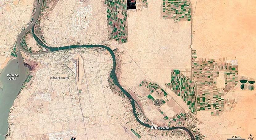 contradicción cuenca Nilo: más lluvias pero menos agua millones personas