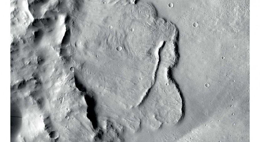 sonda Mars Express revela primera vez sistema agua subterránea Marte